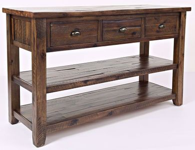 Artisan's Craft Oak Sofa Table