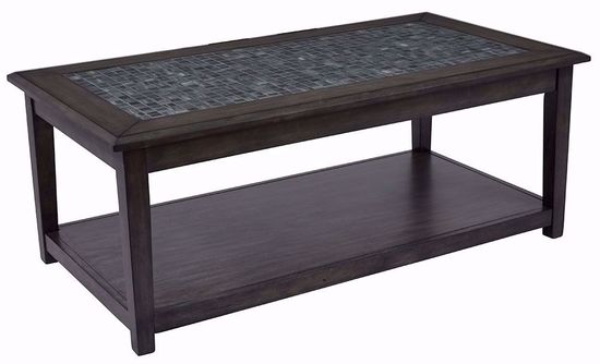 Picture of Grey Mosaic Castered Cocktail Table