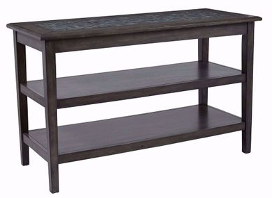 Grey Mosaic Sofa Media Table