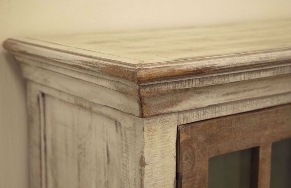 Picture of Vintage White Four Door Console