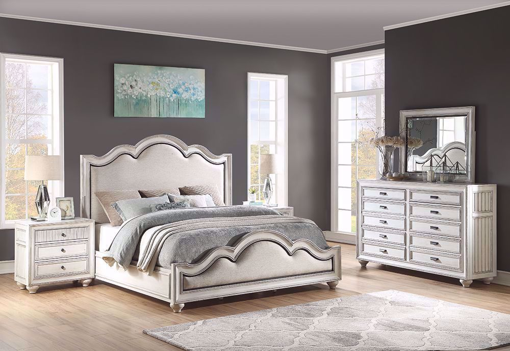 Picture of Harmony Queen Upholstered Bed Set
