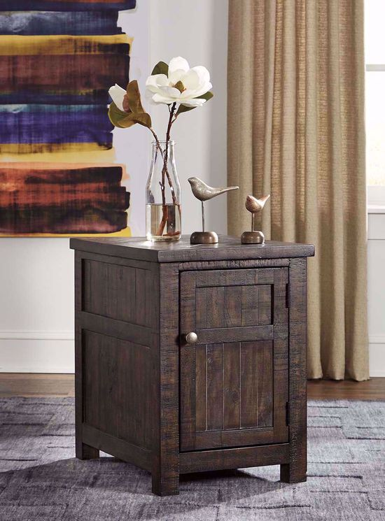Picture of Hillcott Brown Chairside Table