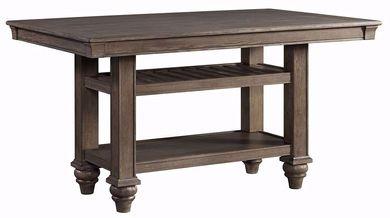 Balboa Park Storage Counter Table