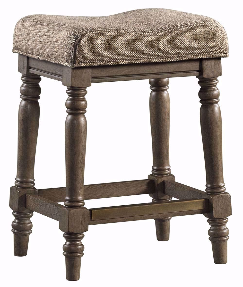 Picture of Balboa Park Upholstered Backless Stool
