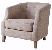 Ansley Nat Chesterfield Chair