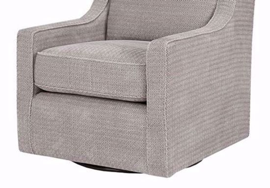 Picture of Harris Grey Swivel Chair