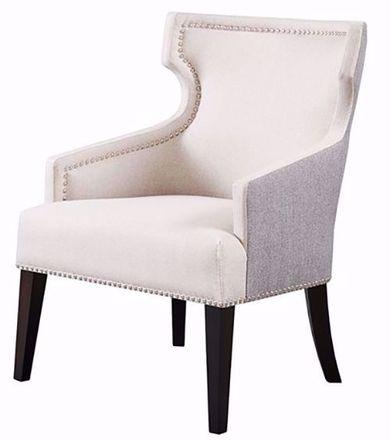 Everett Cream and Black Chair