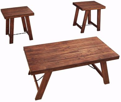 Frezler Brown Three Pack of Tables