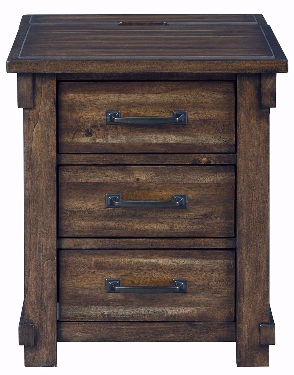 Picture of Lakeleigh Brown Rectangular End Table