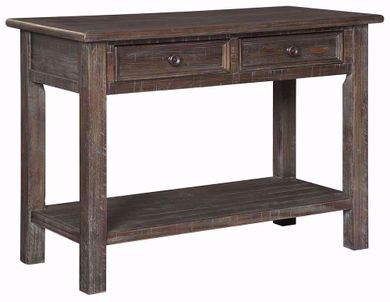Wyndahl Brown Sofa Table