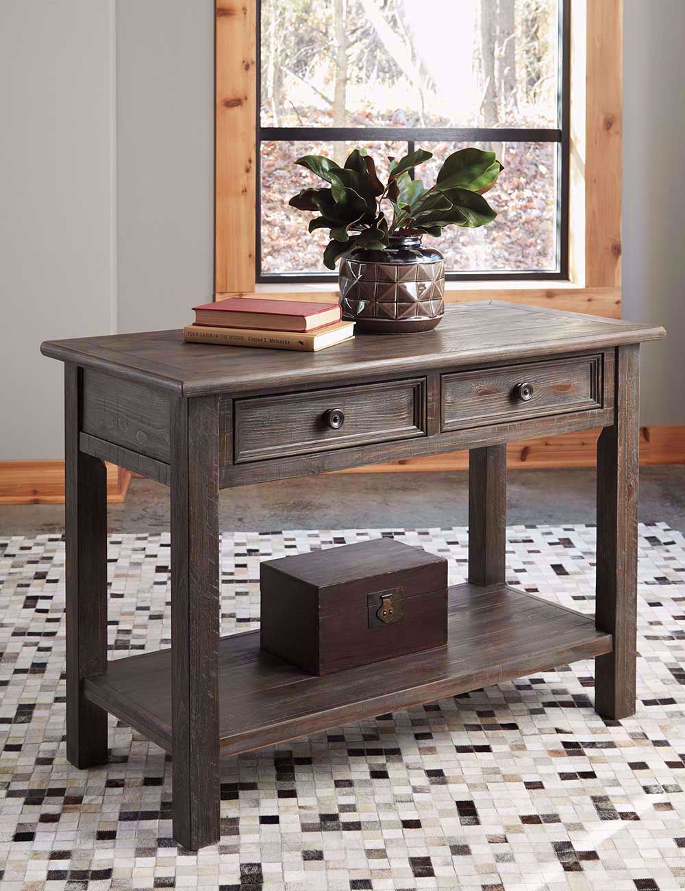 Picture of Wyndahl Brown Sofa Table