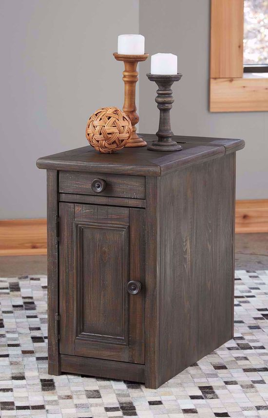 Picture of Wyndahl Brown Chairside Table