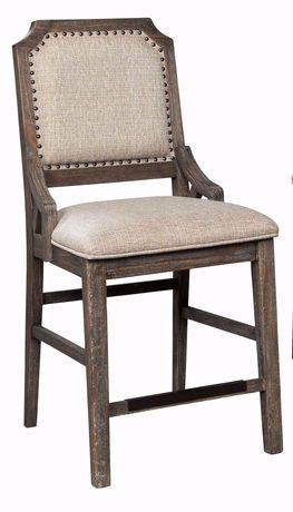 Wyndahl Upholstered Back Stool