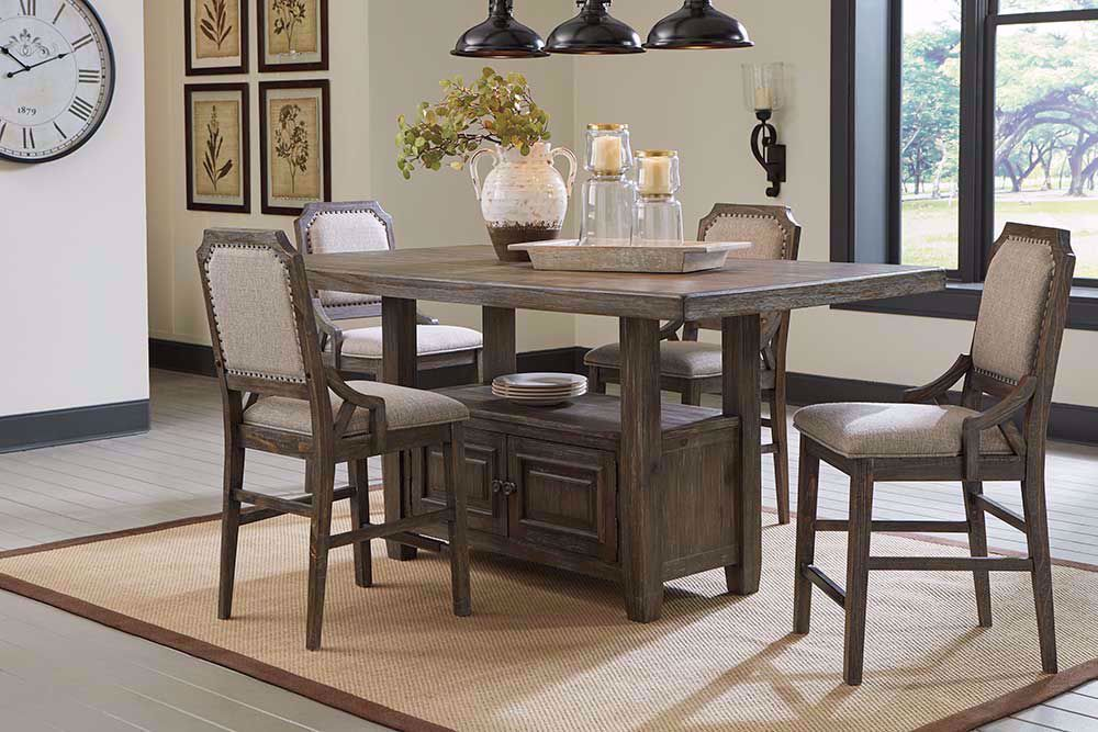 Picture of Wyndahl Counter Table with Four Stools