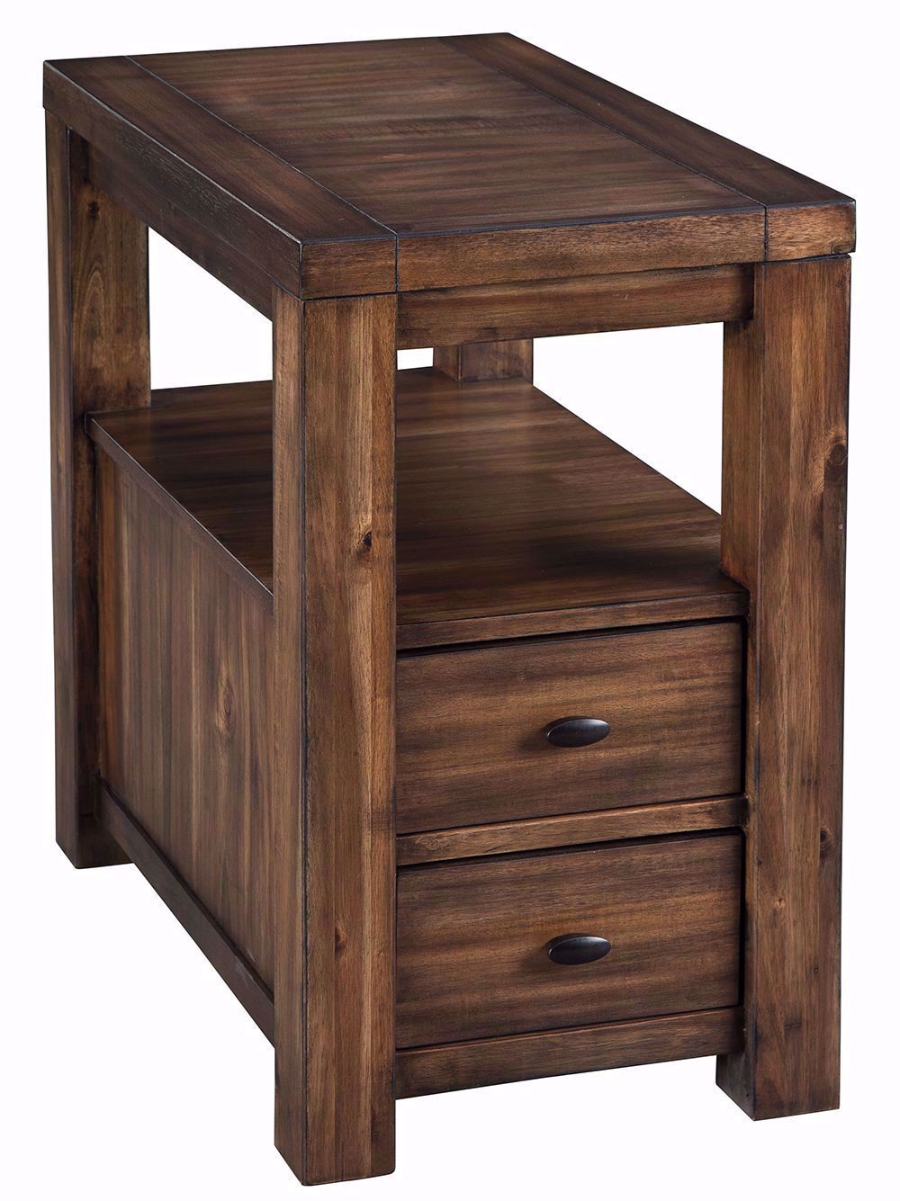 Picture of Marleza Brown Chairside Table