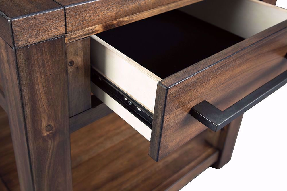 Picture of Marleza Brown Rectangular End Table