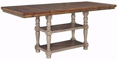 Lettner Rectangular Counter Extension Table