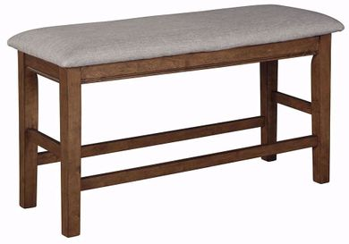 Glennox Counter Upholstered Bench