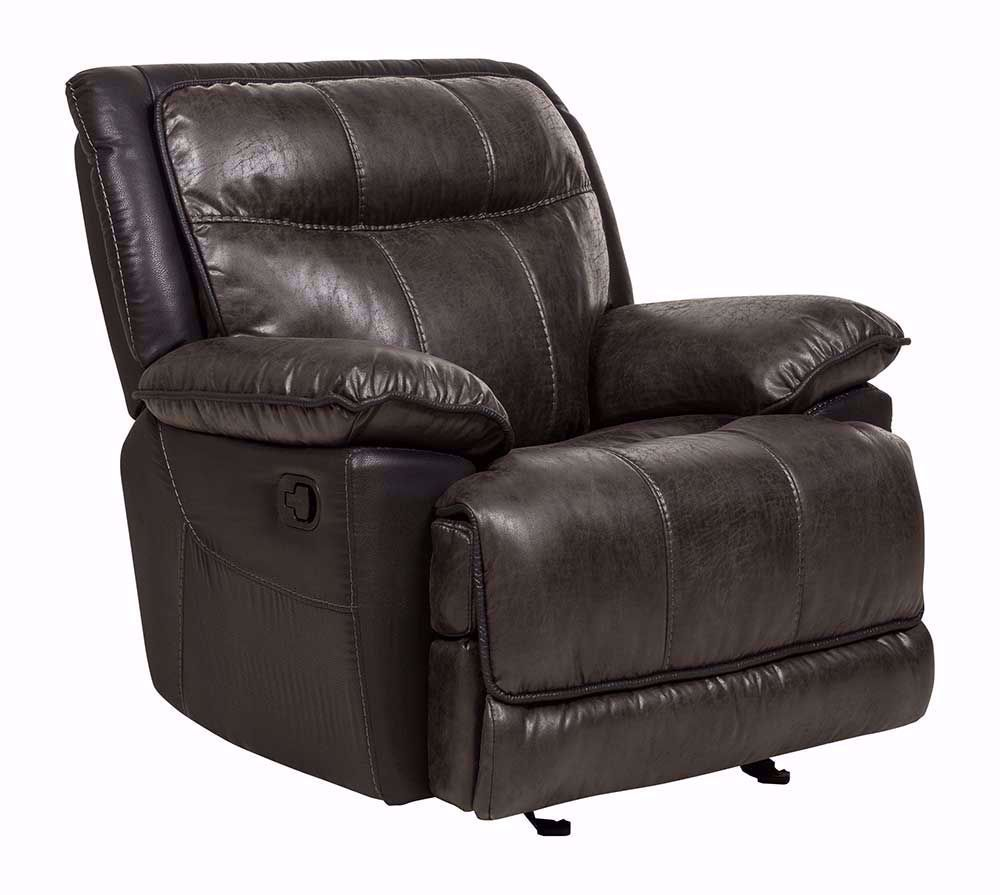 Picture of Iris Gray Glider Recliner