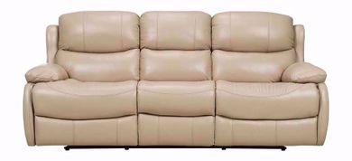 Nash Cream Reclining Sofa