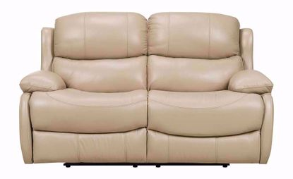 Nash Cream Reclining Loveseat