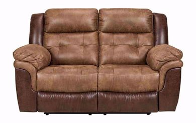 Rose Silt Reclining Loveseat