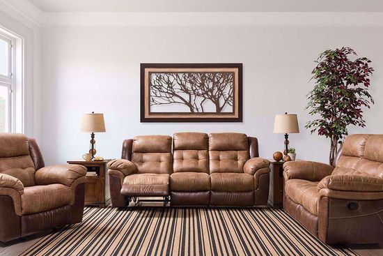 Picture of Rose Silt Reclining Loveseat