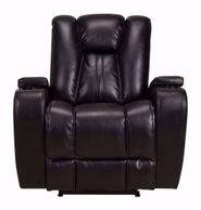 Vance Black Power Recliner