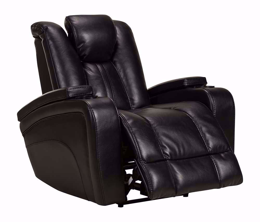 Picture of Vance Black Power Recliner