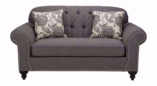 Picture of Hannigan Pewter Amepor Loveseat