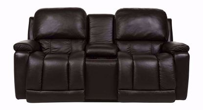 Greyson Power Reclining Console Loveseat