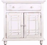 Sergio White Accent Chest