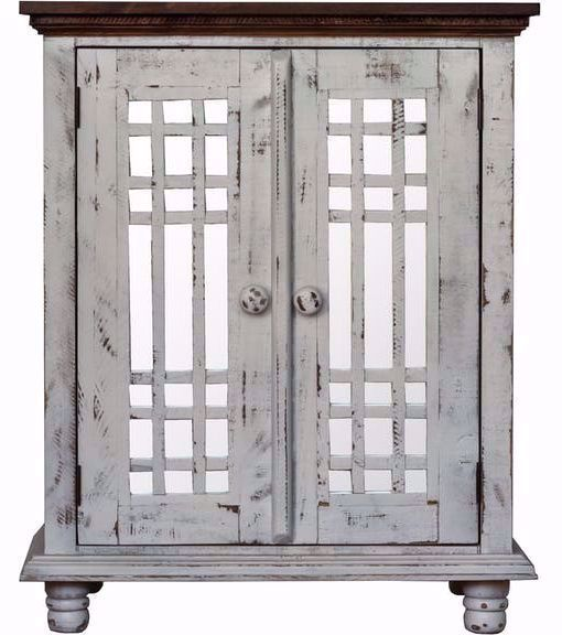 Picture of Lily Grey Curio Cabinet