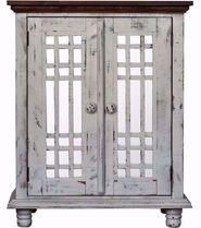 Lily Grey Curio Cabinet
