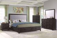 Shelby King Upholstered Bedroom Set