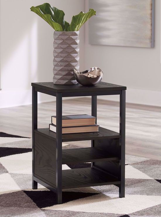 Picture of Airdon Bronze Chairside Table
