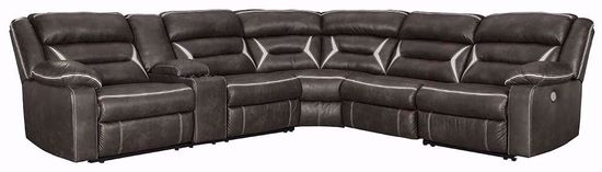 Picture of Kincord Midnight Four Piece Reclining Sectional