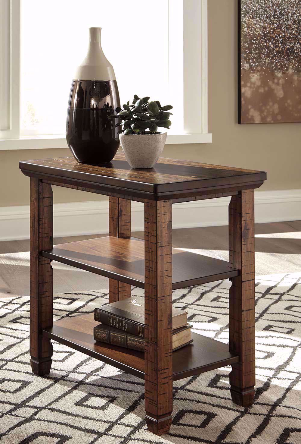 Picture of Royard Brown Chairside Table