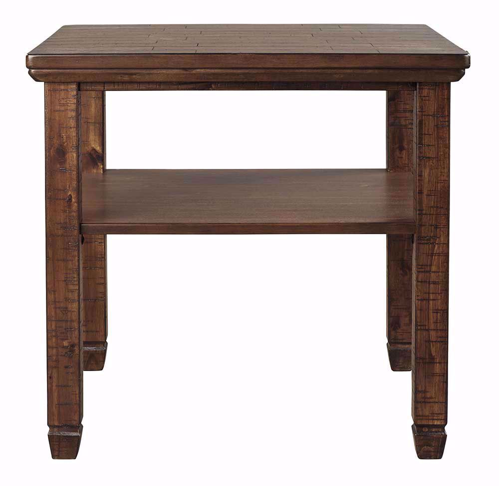 Picture of Royard Brown Rectangular End Table