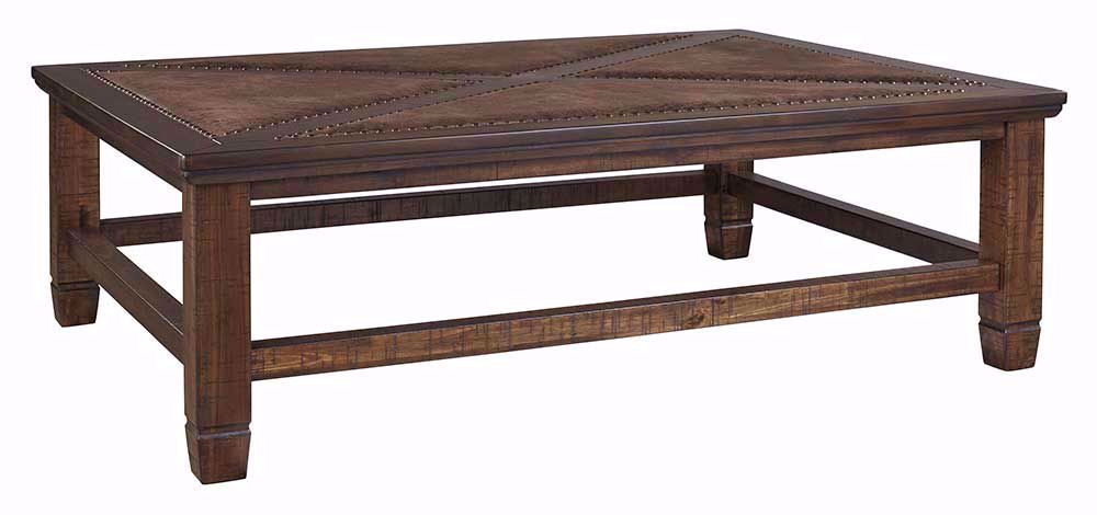 Picture of Royard Brown Rectangular Cocktail Table