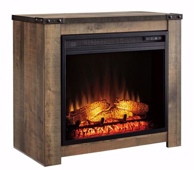 Trinell Fireplace Mantle with Fireplace Insert