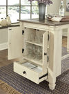 Picture of Bolanburg Rectangular Counter Storage Table