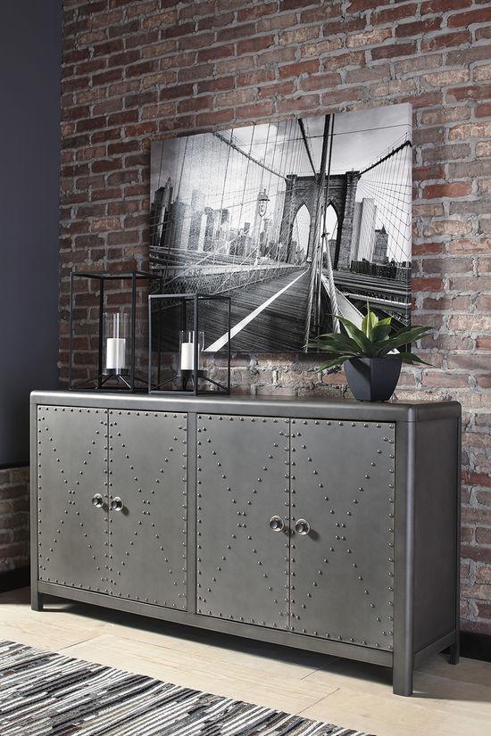 Picture of Rock Ridge Four Door Cabinet