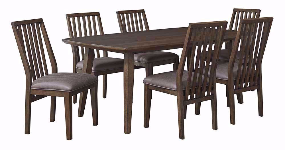 Picture of Kisper Rectangular Table with Six Chairs
