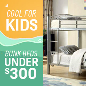 Cool for Kids | Bunk Beds Under $300