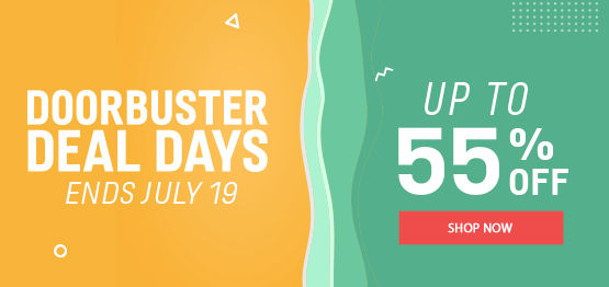 Doorbuster Deal Days Up to 55% off | Ends July 19