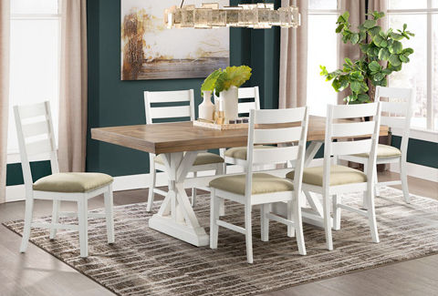 Admirable Dining Room Sets Shop Dining Table Sets And Kitchen Table Bralicious Painted Fabric Chair Ideas Braliciousco