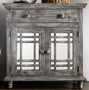 Sergio Silver Accent Chest