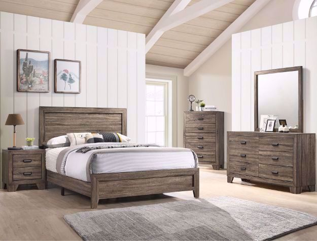Picture of Millie Gray Queen Bedroom Set