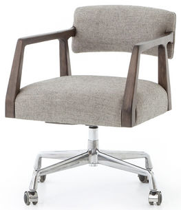 Tyler Ives White and Grey Desk Chair